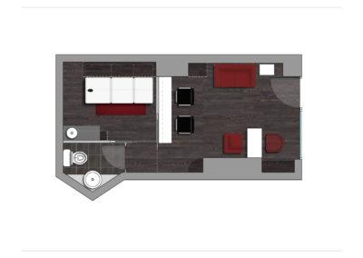 Interiorismo y decoración para local como Centro de Estética, Parla